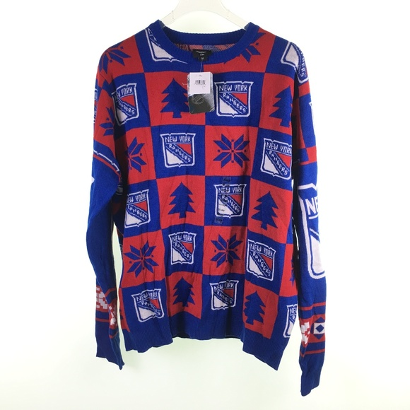 998db1eed5d NHL Sweaters | Ny New York Rangers Ugly H116078 | Poshmark
